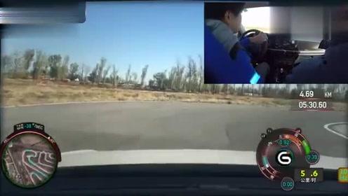 朗逸超级评测赛道操控测试视频