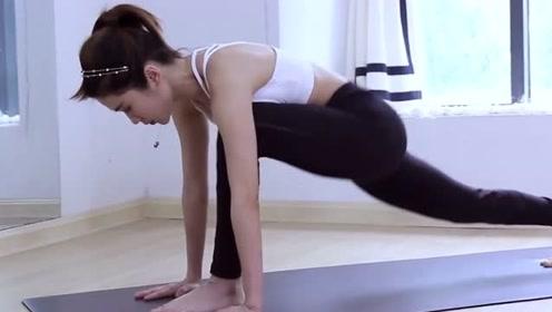 拉伸腿部的瑜伽体式,提高你身体的稳定性哦