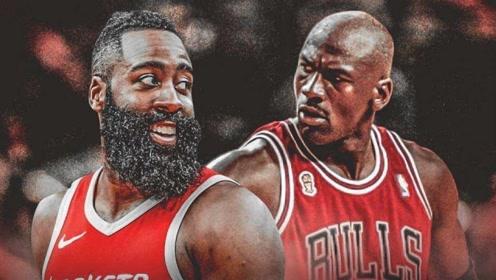 NBA近50年单赛季50+次数排行 哈登比肩科比乔丹