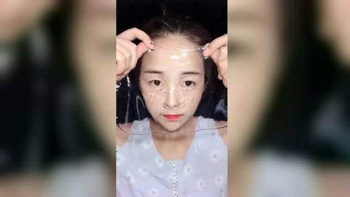 女神护肤,面膜的正确用法