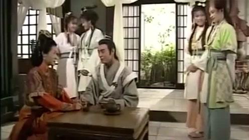 天龙八部:梦姑跟虚竹来到灵鹫宫,此刻的虚竹人生巅峰!
