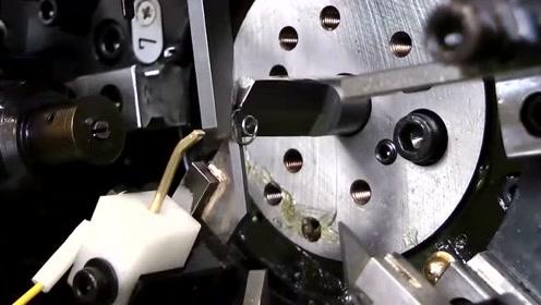 小弹簧制造过程,让人心情舒畅的视频