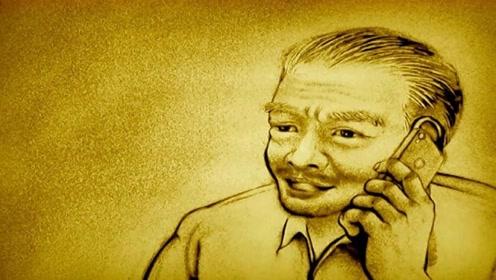 音乐沙画:祁隆的《老父亲》勾起了多少人的酸楚!他总是在默默奉献