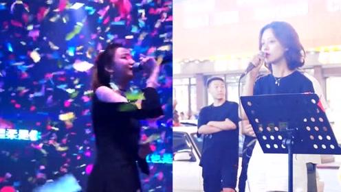 小姐姐街头演唱《往后余生》,网友:独特迷人的嗓音,超级好听