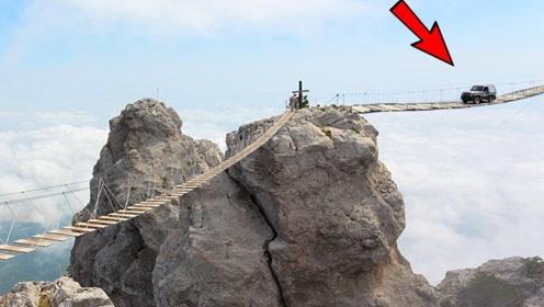 5个世界上最危险的桥!其中一个仅1.82米宽,宁愿绕路也不敢走!
