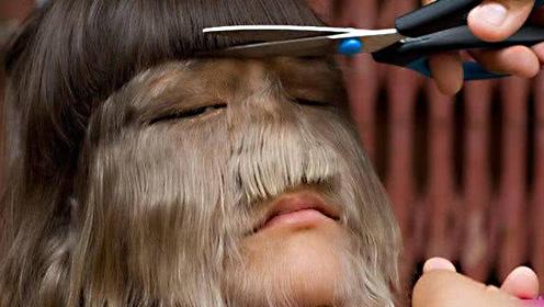 脸部长满毛发的多毛女!乐观称自己为美猴王
