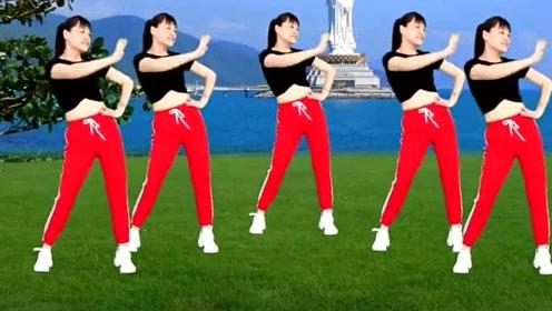 每天6分钟跟着动作跳强力燃脂减肥操新版《雪莲姑娘》想不瘦都不行!