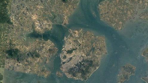 谷歌卫星的扫描,在卫星眼中的地球,原来是这么美!