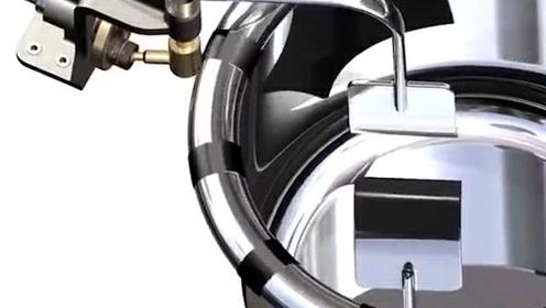 机械之美:创意的搅拌锅,看看它的机械原理结构
