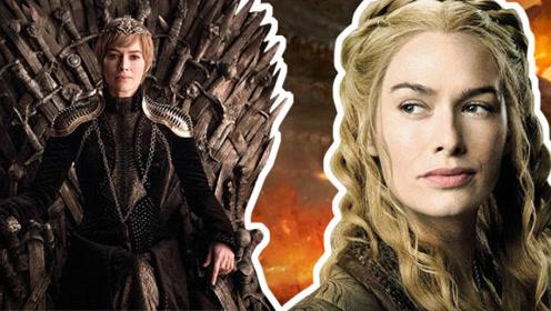 《权力的游戏》瑟曦称王之路:爱子情深真色后,冷血无情疯女王!