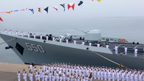 60多国齐聚为中国海军庆生,为何美却不参加?网友:心里不平衡?