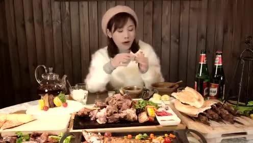 爱面食的大胃王密子君,这次对馕有了新的认识!