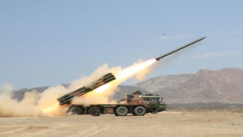 海拔4600米一发命中!西藏军区远程火箭炮发威!美媒:我酸了