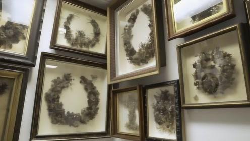 美国博物馆又出名了!收藏上万件头发令人倒胃口,不料内部美到哭