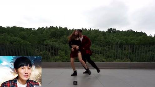 情侣舞蹈:毕业季了,这是送给你们最后一支舞!