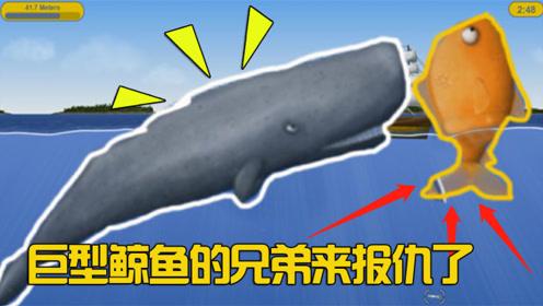 美味海洋第二集:巨型鲸鱼被食人鱼一口吞掉,它兄弟来报仇了