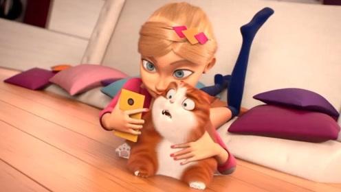 女孩为了争第一,强迫猫咪和自己合影,结局值得我们反思!