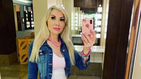48岁女子整容105次成真人芭比,立志成为世界最完美整容脸