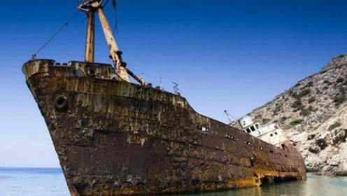 海啸过后发现一条幽灵船,当地渔民乐开了花
