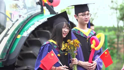 """华中农业大学工学院""""异曲同工""""毕业巡游"""