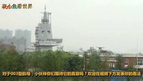 """中国终于""""亮剑""""003航母装备""""上帝之鞭"""",西方:求分享"""