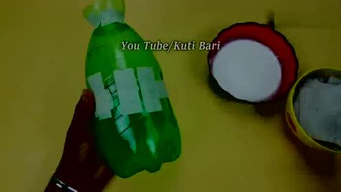 经牛人简单加工过的塑料瓶,价值翻了十几倍,能变成漂亮的花瓶!