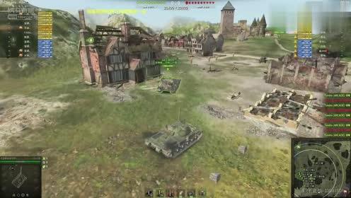 坦克世界:特技表演不错