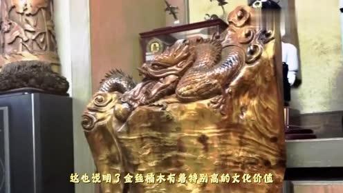 金丝楠木为什么比黄金还贵切开的瞬间就明白了,和珅死的不冤