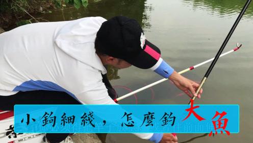 小钩小线,你钓上过多大的鱼?