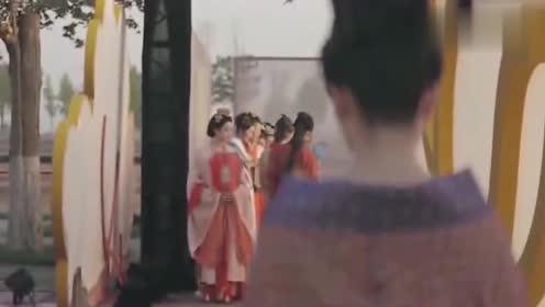 中国风汉服秀,展现大唐富丽堂皇之美,一出场就爱上了!