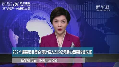 个援藏项目签约预计投入亿元助力西藏脱贫攻坚