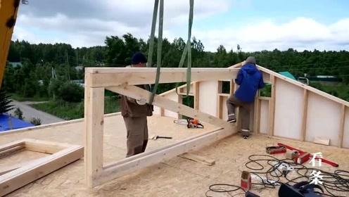 德国三天就能建好的房子是怎么盖的,一起来看看过程吧