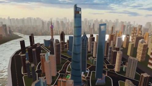 632米的上海中心大厦,遇大风摆动幅度近一米,专家说出了内幕