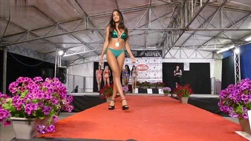 纽约站世界小姐大赛泳装秀,每一件都值得拥有,简直是美极了!