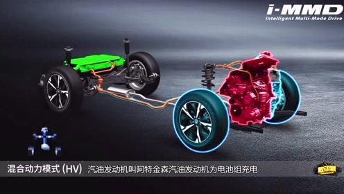 2019款本田CR-V四驱混动版油电混工作原理详解