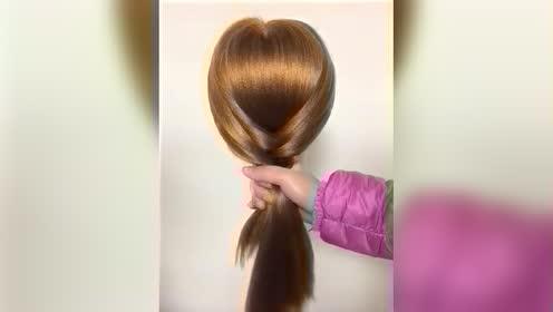 姐姐教我这款发型太好看了,一学就会,手残党也行!
