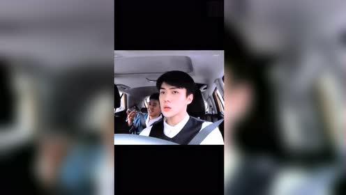 吴世勋:如果世勋当你的司机,能坐在副驾驶真是三生有幸