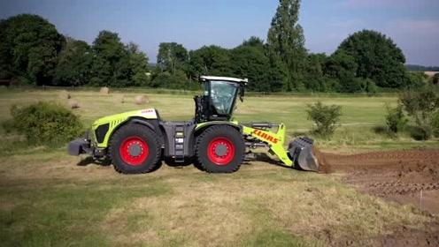 以为凯斯只生产拖拉机,原来还有铲车系列!