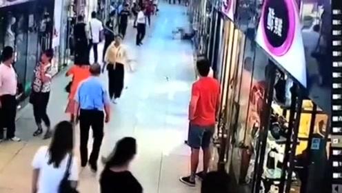 男子光天化日持刀伤害女子致死 警方5小时将其抓获