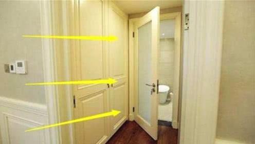 家里厕所门切记不要对着3个地方,不是迷信,后悔知道的太晚