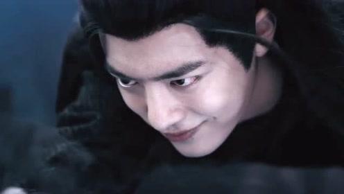 魏婴突然睁眼,这邪魅一笑,却像是另一个人