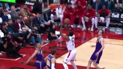 NBA球星集锦:小卡上篮谁都不怂,有人防守直接撞开上篮!