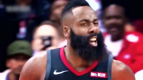 NBA球星集锦:人家进攻是防不住,哈登进攻是不敢防!