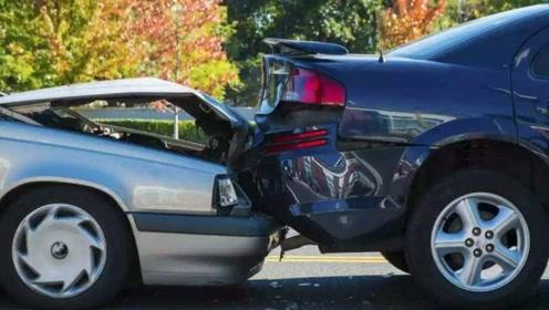 老司机提醒:追尾不一定都是后车责任,这4种情况前车负全责!