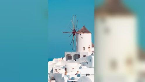 私藏在希腊最值得去的海岛,充满着浪漫的蓝白世界!