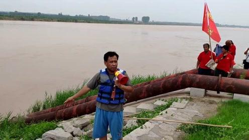 他黄河边阻泳8年受益人超10万,不听劝就以身试险