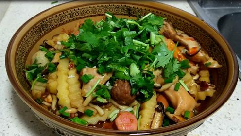家常版麻辣香锅,做法简单,十块钱成本吃安逸了