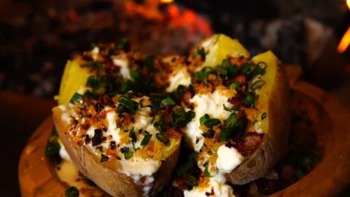 简单的食材做最精致的食物,土豆还能这么吃