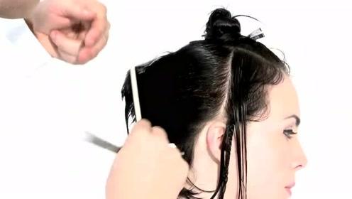 清爽干练的短发,搭配斜刘海,高冷之余又不失帅气!