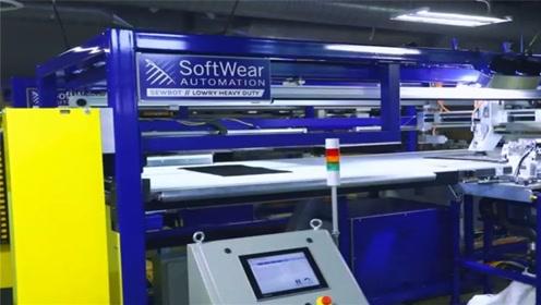 美国发明裁缝机器人,22秒生产一件T恤,成本还不到2块5